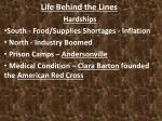 life behind the lines5