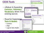 ceds tools