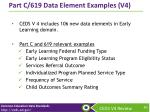 part c 619 data element examples v4