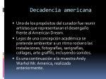 decadencia americana