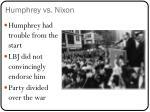 humphrey vs nixon