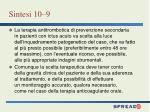 sintesi 10 9