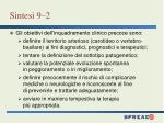 sintesi 9 21