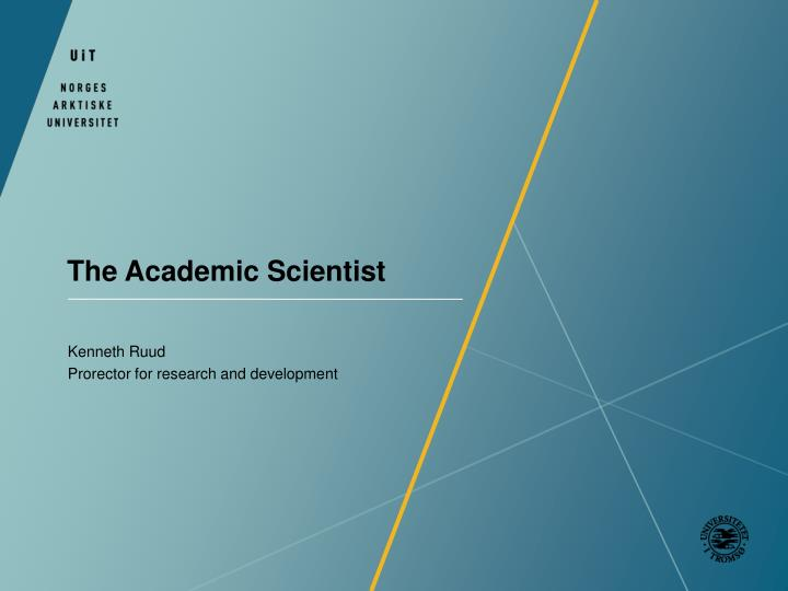 the academic scientist n.