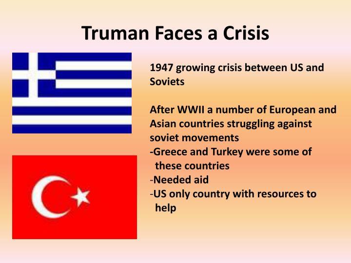 Truman Faces a Crisis