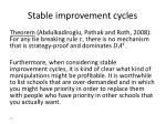 stable improvement cycles3