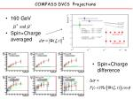 compass dvcs projections