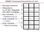 hermes transversely polarized h e e g x ssa