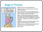stage 6 principle