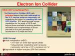 electron ion collider