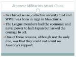 japanese militarists attack china2
