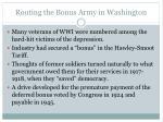 routing the bonus army in washington