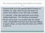 the great crash ends the golden twenties2