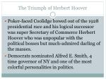 the triumph of herbert hoover