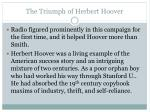 the triumph of herbert hoover2