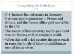 unraveling the debt knot3