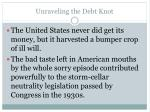 unraveling the debt knot4