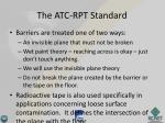 the atc rpt standard2