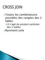 cross join