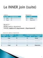 le inner join suite