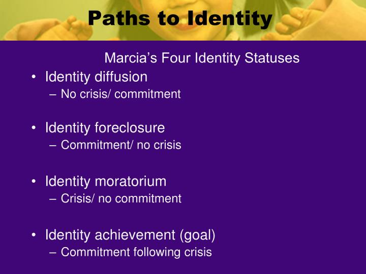 Paths to Identity