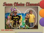team choice elements4