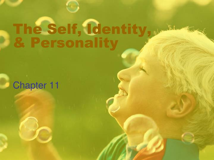the self identity personality n.