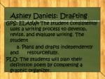 ashley daniels drafting