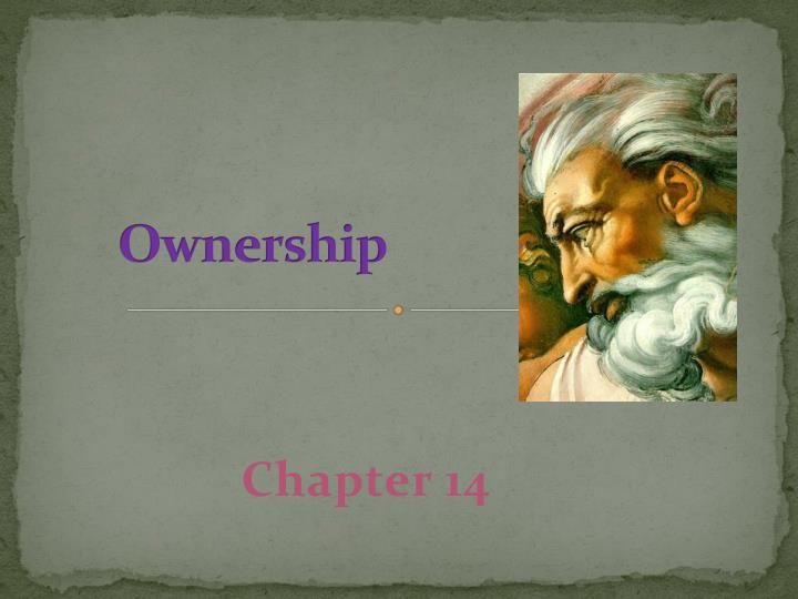 ownership n.