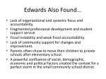 edwards also found