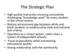 the strategic plan