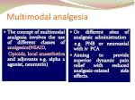 multimodal analgesia1