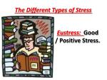 the different types of stress2