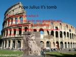 pope julius ii s tomb