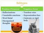 subtypes