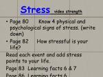 stress video strength