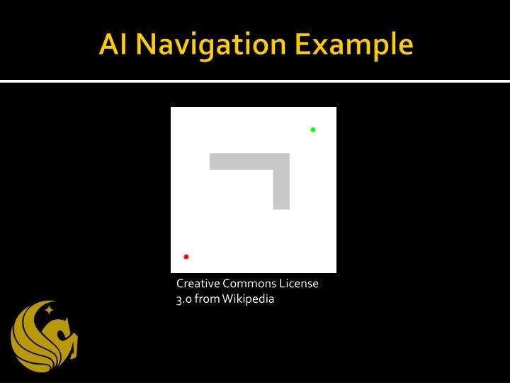 AI Navigation Example