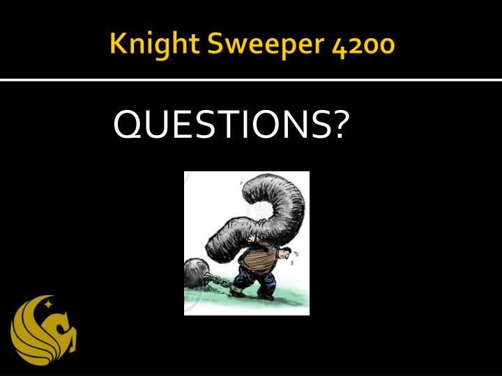 Knight Sweeper 4200
