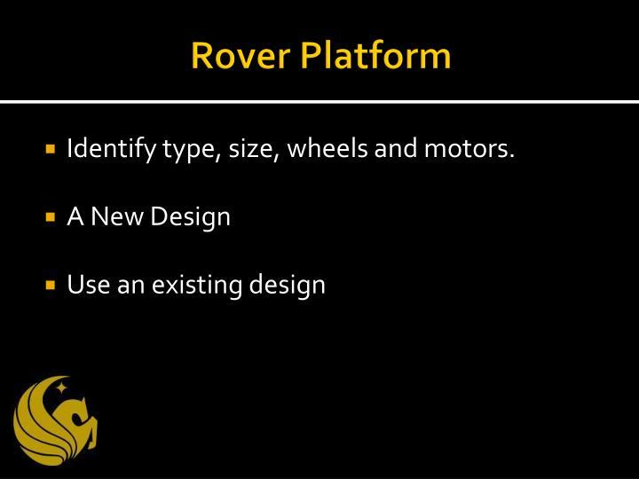 Rover Platform