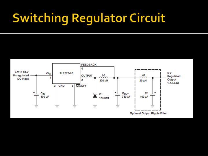 Switching Regulator Circuit