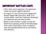 important battles cont2