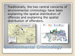 environmental criminology2
