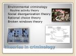 theories in criminology