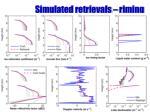 simulated retrievals riming
