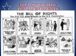 bill of rights ten amendments