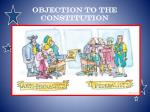 objection to the constitution