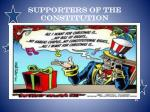 supporters of the constitution1