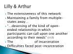 lilly arthur