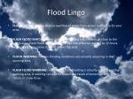 flood lingo