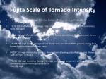 fujita scale of tornado intensity
